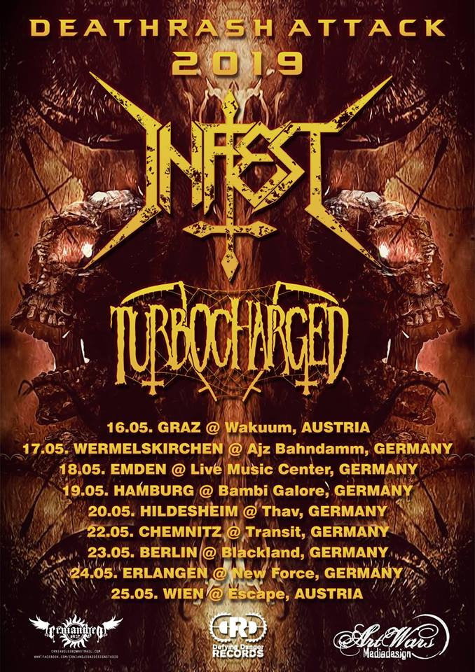 INFEST- Deathrash Attack Tour 2019