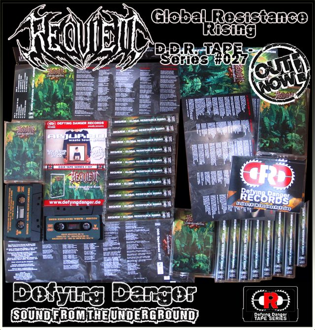 REQUIEM - Global Resistance Rising TAPE